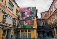 Художники со всей России превращают здания Нижнего Новгорода в арт-объекты