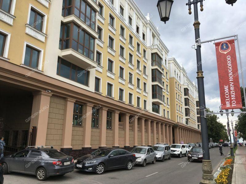 трёхкомнатная квартира в новостройке на набережной Верхне-Волжская