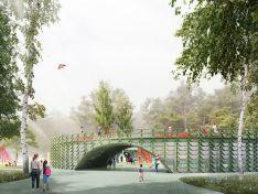 Каким будет детский центр в парке «Швейцария»?