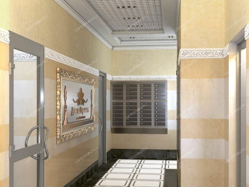 трёхкомнатная квартира в новостройке на в границах улиц Максима Горького, Короленко, Славянская, Студеная, 1 пуск. комплекс