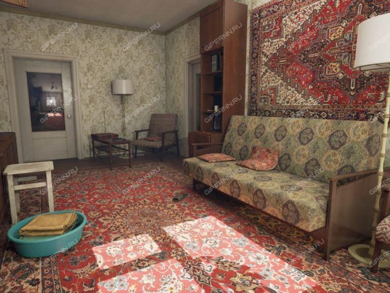трёхкомнатная квартира на улице Терешковой дом 8 город Дзержинск