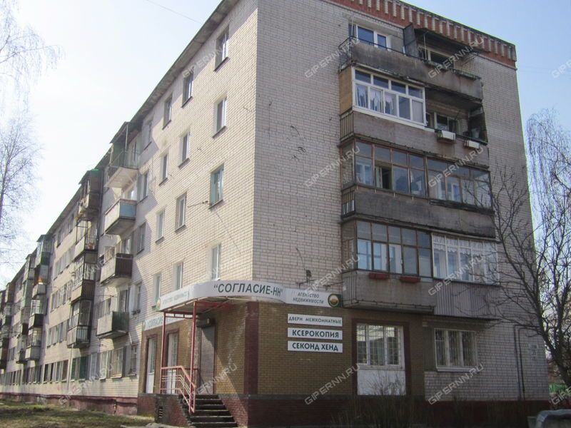 однокомнатная квартира на улице Лескова дом 35 к1